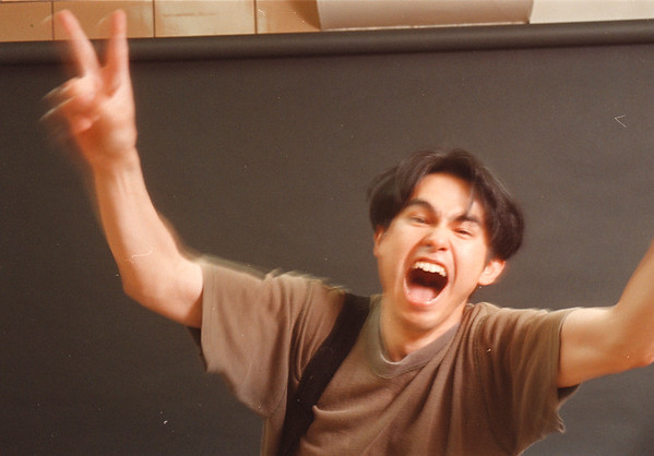 6/18/97--Takaaki Iwabu, all area photoagrapher,  photo by Dan Cappy--