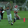 97/09/13 NF vs Lockport - James Neiss Photo - #14 Thomas Kresman of Niagara Falls runs one in for a touch down in the 2nd qtr. against Lockport.
