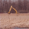 3/20/97 Buckhorn Restoration - James Neiss Photo - Crews Digging Marshy Area At Buckhorn Island State Park on Grand Island trying to restore the balance of Nature.