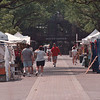 7/2/97--CRAFT FAIR--DAN CAPPELLAZZO PHOTO--CRAFT GOERS MAKE THEIR WAY DOWN THE EAST MALL (BETWEEN 3RD AND RAINBOW BLVD.) THROUGH THE CRAFT TENTS. THE CRAFT SHOW WILL BE GOING ON UNTIL JULY 5TH.<br /> <br /> GR