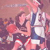 1/23/97 -- falcons --Takaaki Iwabu photo-- N-Wheatfield Jennifer Grawe (13) keeps the rebound under the basket as Kenmore West Loretta Kavanaugh defends her.<br /> <br /> sports, Saturday