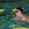 98/01/09 Lockport Swim 2*Dennis Stierer photo - Evan Gaskill during the 200 Individual Medley. He came in second with a time of 2:22.76.