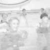 98/01/21  YMCA Aquatic class*Dennis Stierer photo - The senior aquatic class for arthritis is more fun than work as Jean Arlington (left front) and Carol Fritz (right) show.