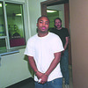 1/6/97 Lavon T. Cox - James Neiss Photo - Comming from arraingment at city court.