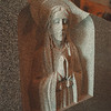 5/15/97 Niagara Monument 5 - James Neiss Photo -  Sculpture of Blessed mother by Larry Hurka, Sculpturer out of Barre Granite.