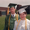 6/23/97 Salutatorian & Valedictorian - James Neiss Photo - Lewport high top students -  Jeffrey Martinez, 18 of Youngstown, Salutatorian and Robyn Nelson, 17 of Lewiston, Valedictorian.