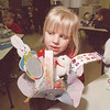 "3/21/97 Holliday Basket - James Neiss Photo - James Neiss PHoto - Amber Baker 6yrs in KG at LewPort South Elem, holds her ""spring basket"" she made in class filled with bunnies, eggs grass and more. She is a student in Mrs. Nardene Bradt's class."