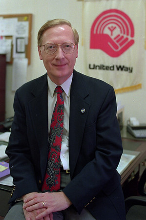 98/05/04 - United Way *Dennis Stierer photo - David Callard, president of the United Way Board of Directors.