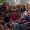 98/05/14 LaDuca Family *Dennis Stierer Photo - L-R: Ron LaDuca;  son, Michael,14;  wife Karen;  daughter, Kristen,16;  and Karen's dad, Dick Bird.