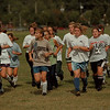 98/09/08 LaSalle Girls Soccer 2 - James Neiss Photo - LaSalle Girls Soccer run a lap.