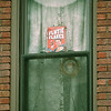 98/12/07 Flutie display *Dennis Stierer Photo<br /> This box of Flutie Flakes was found decorated with Christmas lights in a building at the corner of Portage and Main St.