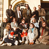 98/12/01 Wyndham Lawn Home - Vino Wong Photo - Fund raising supporters: (front row) Cheryl and Eric Facklam, Nicole and Judy Patterson, Jaci Dudex. (middle row) Val Kruse, Lois Bowers, Jean See, Barb Eckhardt, Rosmarie Timkey. (back row) Dr. David Lewis, Ron Ratze, Rich Mehls, Tina Baker and Dr. August Domenico.