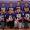 98/11/09 RH All League-Rachel naber photo-(Row #1, bottom/left to right) Brett Menzel, Gerald Slack, James Cain, Darren Palmer/(row#2, left to right) Keith Wagner, Bill Barnard, Matt Corser, Jesse Snyder.