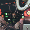 98/11/06 Honduras relief -  Vino Wong Photo (left) Major Tim Bidlack of the 914th Airlift Wing Air Force Reserve at the Niagara Falls Air Reserve Station prepares to take off in the A C-130 Hercules transport aircraft leaving for the Gulfport Mississippi and load relief supplies and equipment for Central America Friday night. Major Bidlack is the aircraft commander for the mission.