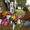 100927 car crash memorial 1