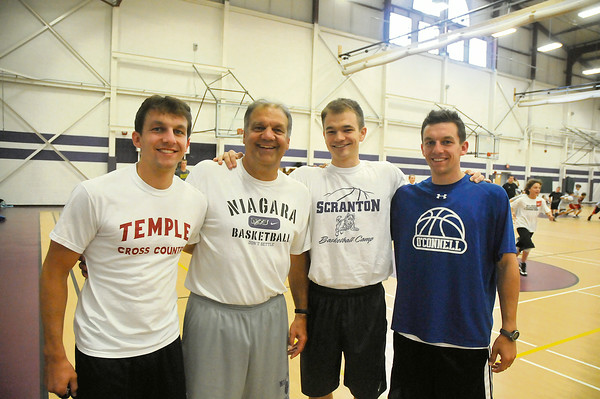 110701  NU bball /Mihalich family