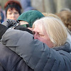 James Neiss/staff photographerNiagara Falls, NY - Tammi Cote, right, is consoled after the body of her cousin Judith Burr was found.