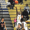 James Neiss/staff photographerNiagara Falls, NY - Niagara Falls #23 Taijay Williams puts the ball up in the first quarter of basketball action against North Tonawanda.