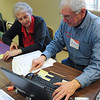 James Neiss/staff photographerLewiston, NY - AARP Tax-Aide Program volunteer Dick Allen of Youngstown prepares an income tax return for Pat Olson at the Lewiston Senior Center on Friday.  The service is free and appointments can be made by calling the individual locations that include: The John Duke Senior Center in Niagara Falls on Monday, Tuesday, Wednesday and Friday; the Lewiston Library on Tuesdays and Thursdays; the Lewiston Senior Center on Fridays; the Wilson Free Library on Monday's and the Grand Island Senior Center on Monday's.