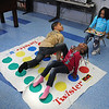 James Neiss/staff photographerNiagara Falls, NY - Right hand blue was pushing the limit for Damerius Hart, 8, and Sarah Tillman, 6, in a game of twister at the Niagara Falls Boy's and Girl's Club. Calling the moves was Danice Caffey, 8.
