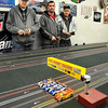 James Neiss/staff photographerNiagara Falls, NY - Slot car racers from Niagara Falls Dan O'Grady, William Swanson and Al Patterson from the City of Tonawanda, wait for the starting countdown.