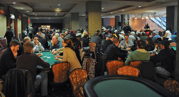 "James Neiss/staff photographerNiagara Falls, NY - It was a ""full house"" at the ""Western New York Poker Championship,"" courtesy of the national DeepStacks Poker Tour on Saturday. More than $200,000 in guaranteed prize money was up for grabs and it's the first-ever televised poker event in Western New York at the Seneca Niagara Casino & Hotel."
