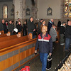 James Neiss/staff photographerNiagara Falls, NY - The faithful line up for ashes during Ash Wednesday services at St. Mary of the Cataract.