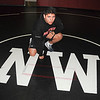 James Neiss/staff photographerSanborn, NY - Niagara Wheatfield wrestler Max Antone.