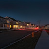 James Neiss/staff photographerNiagara Falls, NY - The new roads of the Hope VI homes in the old Center Court area have only the lights from the homes and passing cars to illuminate the street. Residents are complaining about the lack of street lights in the new development.
