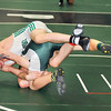 James Neiss/staff photographerLewiston, NY - Lewiston-Porter wrestler D.J. Marshall takes down Pioneer's Mytchell Collingridge during the 2012 Section 6 Class B wrestling tournament at Lew-Port High School.