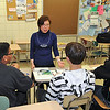 James Neiss/staff photographerLewiston, NY - Wang Ying, a visiting teacher from Tianjin NO. Two High School in China, teaches Chinese as a Second Language to students at Lewiston-Porter High School as part of a special program through the UB Confucius Academy.