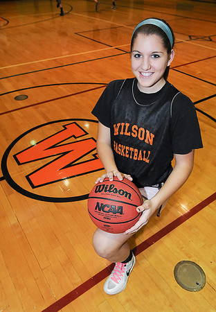James Neiss/staff photographerWilson, NY - Wilson High School girls basketball player Jamie Curry.