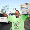 James Neiss/staff photographerNiagara Falls, NY -  Niagara Wheatfield Quantis member Steve Evert sells Make a Difference Day Niagara Gazette newspapers on Niagara Falls Boulevard and Walmore Road. Proceeds to benefit the United Way of Greater Niagara and United Way of the Tonawanda's.