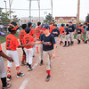 James Neiss/staff photographerNiagara Falls, NY - Good sports, the MacLeod's Pharmacy Braves and Tops Tigers shake hands after the Braves won the city championship game at Nicoletti Field.