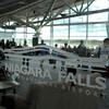 James Neiss/staff photographerNiagara Falls, NY - Landing and departing Allegiant Airline customers fill the terminal at Niagara Falls International Airport.