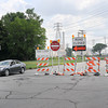 James Neiss/staff photographerNiagara Falls, NY - Traffic is now restricted to one westbound lane between 56th Street and Hyde Park Boulevard on Buffalo Avenue as reconstruction work begins.