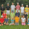 James Neiss/staff photographerNiagara Falls, NY - PHOTO FINISH: The first, second and third place winners in each age category posed for photo at the 35th Annual City of Niagara Falls Junior Golf Tournament at Hyde Park. Front from left, are; Mikah McDonnell 11/3rd Place, Sammy Rootes, 7/1st, Hannah Cacciatore, 9/3rd, Vito Wojick, 8/2nd, Lilian Scrivano, 10/1st, and Kamryn Smith, 10/2nd. Middle from left; Hannah Sherman, 8/3rd, Luke Kenyon, 12/1st, Connor Brown, 14/3rd and Bennett Nigro, 11/2nd. Back from left are; City Administrator Donna Owens, Anthony Merante, 17/3rd, James Spanbauer, 16/2nd, Scott Avery, 17/1st, Jacob Hierl 13/2nd and Emily Kelly 12/1st.