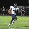 James Neiss/staff photographerLancaster, NY - Niagara Falls High School football player #42 Daqurie Simmons runs after recovering a fumbled ball in the second quarter of game action against Lancaster.