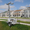 James Neiss/staff photographerNiagara Falls, NY - Temporary street lights are in place as fixed light poles are installed at the Hope VI project.