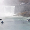 James Neiss/staff photographerNiagara Falls NY - The Maid of the Mist started operations for the 2012 tourist season on Thursday April 12. Future operation of the historic boat tour company depends on the State of New York allowing them to build on the United States side of the Niagara Gorge, said Chris Glynn, President of the Maid of the Mist Corp.