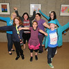 James Neiss/staff photographerNiagara Falls NY -  Cataract Elementary and Gaskill Prep students showed off thier artwork at an artists reception at the Earl Brydges Public Library. Some of the artists attending are, from front left, Jordan Dixon, 9, Isabella Cimino, 7 and Hunter Reeves, 8. In back from left are, Allie Hubert, 13, Savannah Burke, 12, Sabrina Trimm, 14 and Angelica Sullivan, 12.