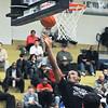 James Neiss/staff photographerNiagara Falls, NY - North Junior/Senior player # 9 Jarmaine Crumpton of Niagara Falls, shoots the ball during basketball game action against the South Junior/Senior team at the 2012 ACE/PAL Basketball Game.