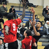 James Neiss/staff photographerNiagara Falls, NY - North Junior/Senior player # 3 Ramir Burton of Niagara Falls, shoots the ball during basketball game action against the South Junior/Senior team at the 2012 ACE/PAL Basketball Game.