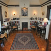 James Neiss/staff photographerNiagara Falls, NY - The second floor library at the Porter Mansion on 4th Street, home of the Tatler Club.