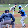 James Neiss/staff photographerSanborn, NY - Niagara Wheatfield pitcher #17 Tyler Wasieczko throws the ball to Grand Island #8 Jesse Ciffa during baseball game action at Niagara Wheatfield.
