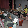 "James Neiss/staff photographerNiagara Falls NY - Job seekers learn ""The 6 R's to Career Fair Success"" with help from Carol Poole, Hope VI community & support services coordinator and Willie Dunn, services coordinator with the Niagara Falls Housing Authority, as part of the Spring Readiness Training & Job Fair. The job fair portion runs from 10 a.m. - 2 p.m. at the Doris W. Jones Family Resource Building on Thursday."