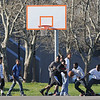 James Neiss/staff photographerNiagara Falls, NY - The cool early evening weather was perfect for playing basketball at Legends Basketball Park on Wednesday.
