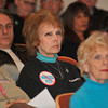 "James Neiss/staff photographerWheatfield, NY - Animal rights supporter Janet Hickman of Sanborn, center, shows her support for no kill pet shelters during a board meeting on Monday at the Wheatfield Town Hall. In a statement, Supervisor Bob Cliffe suggested that the Niagara SPCA board include one or more ""NO KILL"" advocated into thier ranks."