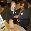 James Neiss/staff photographerLewiston, NY - Project Assistant Eileen Rohan, with The Niagara County Early Childhood Care Quality Improvement Project (QIP), left, chats with Patricia martin of the Ready to Grow Learning Center, who just graduated from the QIP program. The Niagara County Early Childhood Care Quality Improvement Project, an initiative launched in August 2010 to enhance the kindergarten readiness skills of young children in Niagara County, graduated it's first cohort of child care centers Wednesday evening.