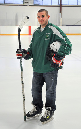 James Neiss/staff photographerLewiston, NY - Lewiston-Porter Hockey player Derek Stein.